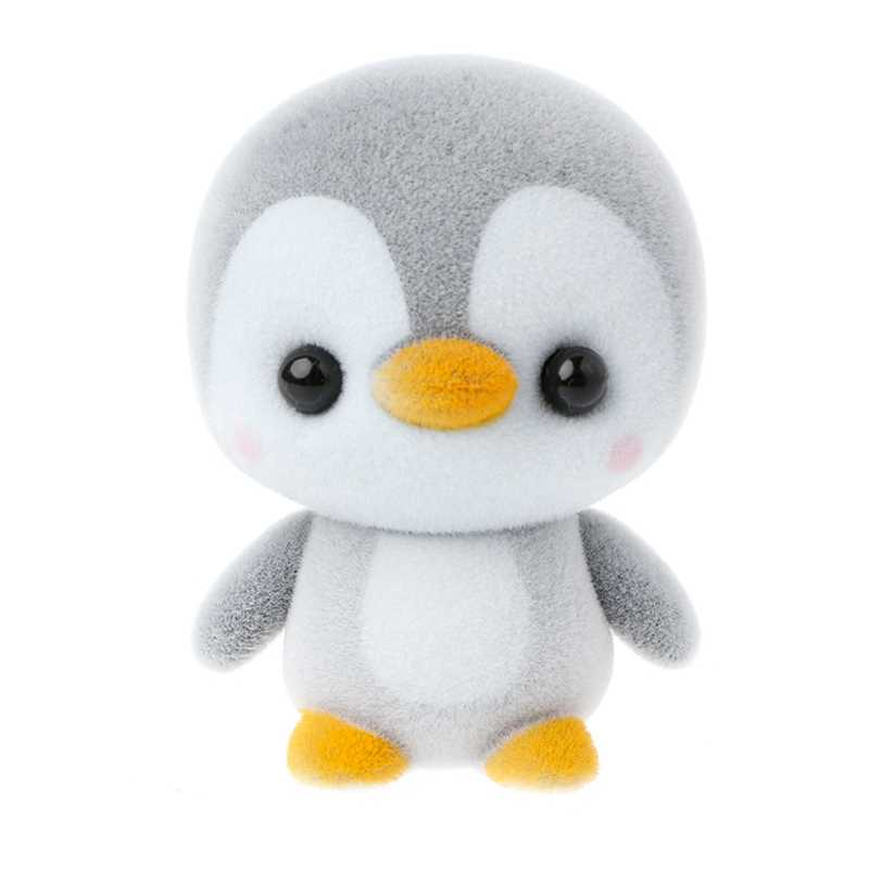 Penguin Figure Animal Two-tone Plush Toy Doll Kids Birthday Gift Car Ornament