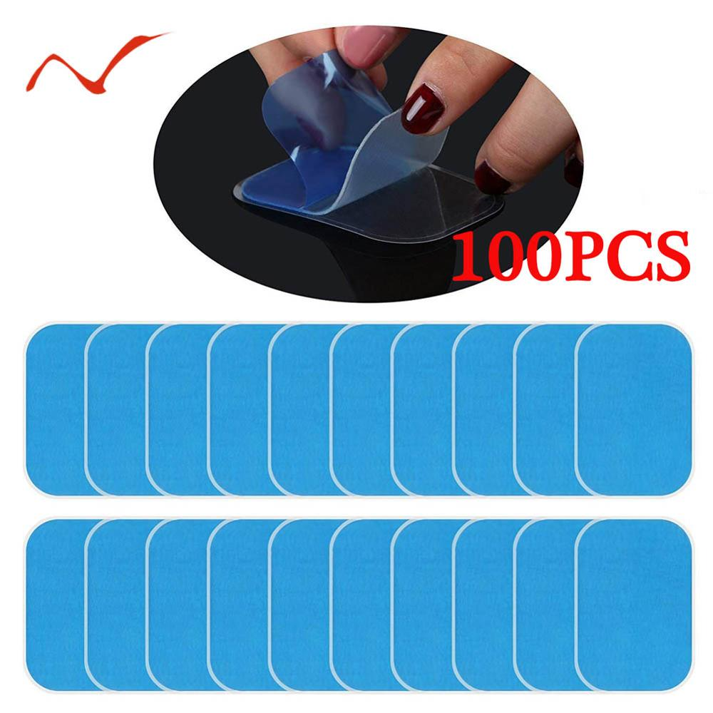100pcs 50pcs Replacement Gel Pads For EMS Abdominal Muscle Stimulator Exerciser Fitness Gel Stickers Hydrogel