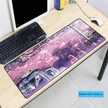 DIY Anime Girl Mouse Pad Large Pad Laptop Mouse Notbook Comp