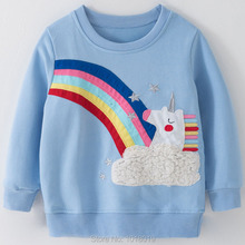 Kids Baby Girl Blouse Long Sleeve Clothes
