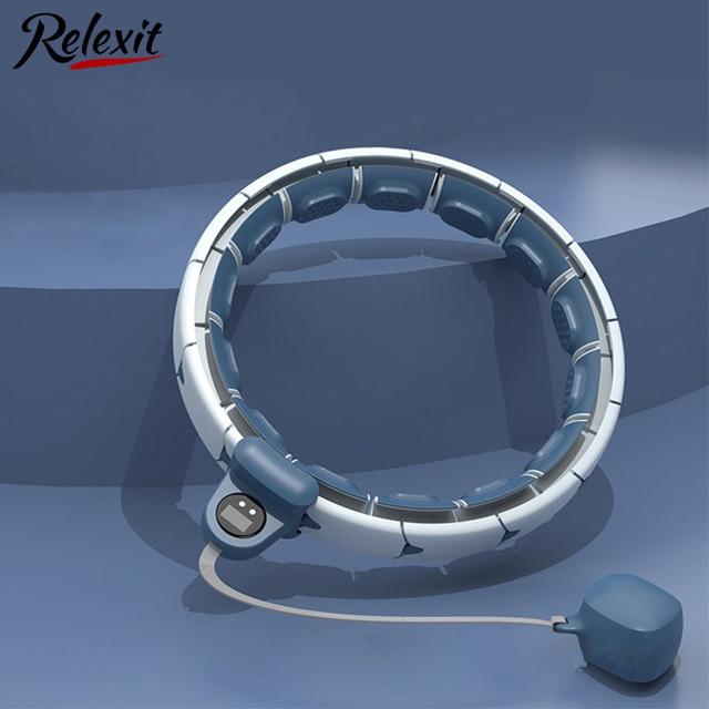 Magnetic Smart Hoola Hoop Weighted Adjustable Easy Hoops Waist Trainer Slimming Aros Gym Home Fitness Equipment Sport Hoops 1