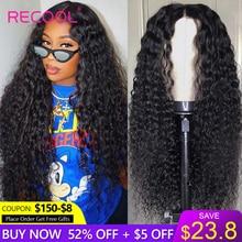 Perruques Lace Frontal Wig Deep Part brésiliennes ondulées Recool, perruques cheveux humains, Closure Wig, 6x6, 13x6, perruques Lace Front Wig Deep Part