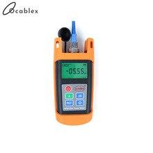 FTTH Fiber Optical Handheld Test Tool Fiber Optic Power Meter KPM 25M OPM Tester with SC Connector