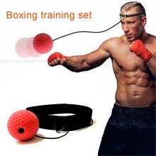 Тренировочный мяч для борьбы с рефлекторным мячом, практичный с повязкой на голову, портативный бокс, тренировочный скоростной мяч, фитнес-аксессуары, тренировочный мяч для бокса, скоростной мяч