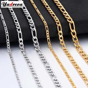 Jewelry Figaro-Chain Stainless-Steel Gold Silver Hot Fashion Women And