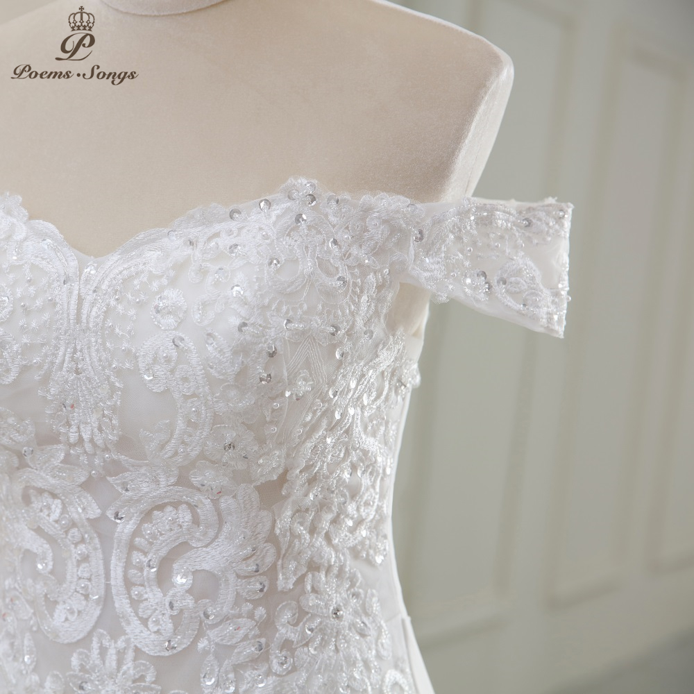 Luxury Sexy style mermaid wedding dress 4