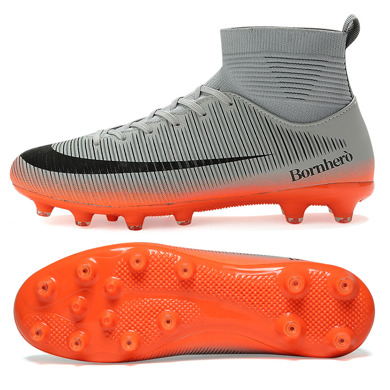 Outdoor Football Boots Men Sneakers Soccer Boots Turf Football Boots Kids Soccer Cleats AG/FG Spikes Training Sport Futsal Shoes 20