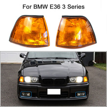 Indicator-Lamp Light-Lens Replacement Signal-Light Yellow 3-Series BMW for Side-Corner