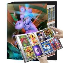 TAKARA TOMY – Livre de cartes Pokémon pouvant comporter 240 pièces, album de collections, classeur ou dossier pour jeu français, peut être hautement chargé, liste de jouets, cadeau pour enfant,