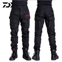 Daiwa рыбацкие штаны для отдыха на природе, походные ветрозащитные мужские брюки, дышащие быстросохнущие камуфляжные рыболовные штаны с принтом питона, комплект