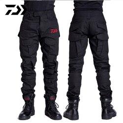 Daiwa рыбацкие штаны для отдыха на природе, походные ветрозащитные мужские брюки, дышащие быстросохнущие камуфляжные рыболовные штаны с прин...