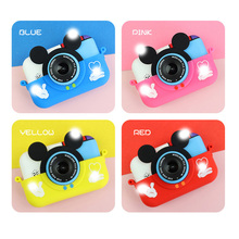 Mini Children Digital Camera 30MP 2.4 Inch IPS Screen 1080P HD Video Selfie SLR Children Toy Camera Birthday Gift kids camera