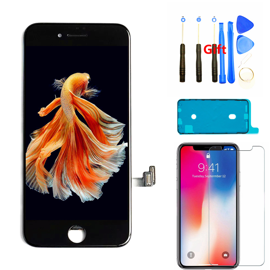 LCD Screen for iPhone 8 8 Plus AAA+ Display Digitizer Assembly with 3D Touch Good Tianma for iPhone 7 7 Plus Replacement Screen(China)