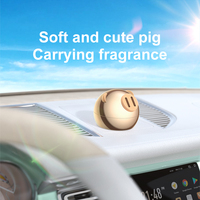 Mini Metal Car Air Freshener For Dashboard Auto Air Outlet Aromatherapy Car Diffuser Solid Perfume Flavoring For Car Home 3
