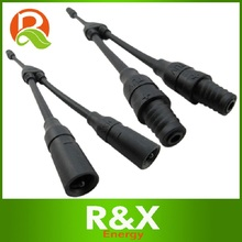 10pairs/lot MC3Y branch solar connector with 4mm2(12AWG) cable, PV MC3. 25 years warranty. High quality.