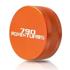 Image 3 - ل KTM 790 Adventure S 2019 790 Adventure 2019 ملحقات دراجة نارية الفرامل الخلفية أسطوانة رئيسية خزان غطاء غطاء حامي