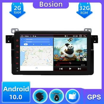 Autoradio GPS Navigation For BMW E46 3 Series Android 10.0 Car Radio Stereo Audio Multimedia Player 1 Din SWC DAB AUX OBD Camera image