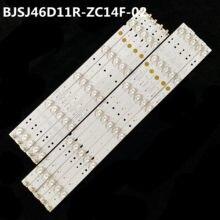 Tiras de luz de fundo led conjunto completo BJSJ46D11R-ZC14F-02 BJSJ46D11L-ZC14F-02 novo para atvio 46 painel HV460WU2-200 modelo le46d5afm