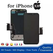 ЖК дисплей для iphone xr сменный сенсорный экран в сборе с дигитайзером