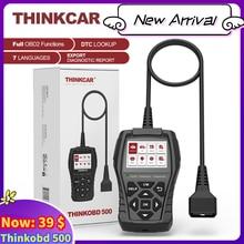 THINKCAR New Arrival THINKOBD 500 Obd2 Scanner for Auto Car Diagnostic Tools Automotriz Obd 2 Version Diagnosis Lifetime Free