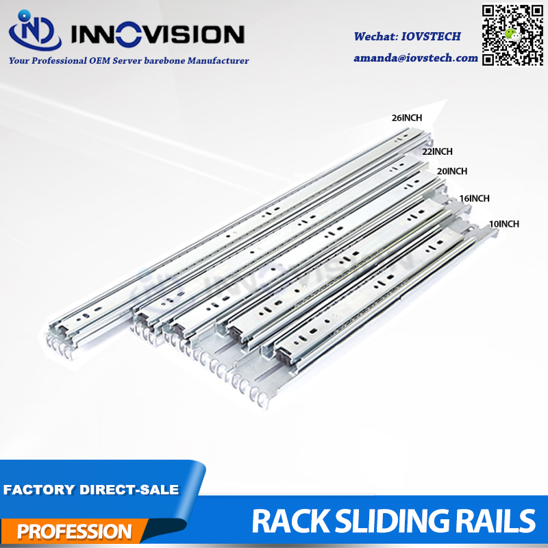 Rack Rail Kit SR-4501 Sliding Rail For Width430mm Of 1U 2U 3U Server Chassis