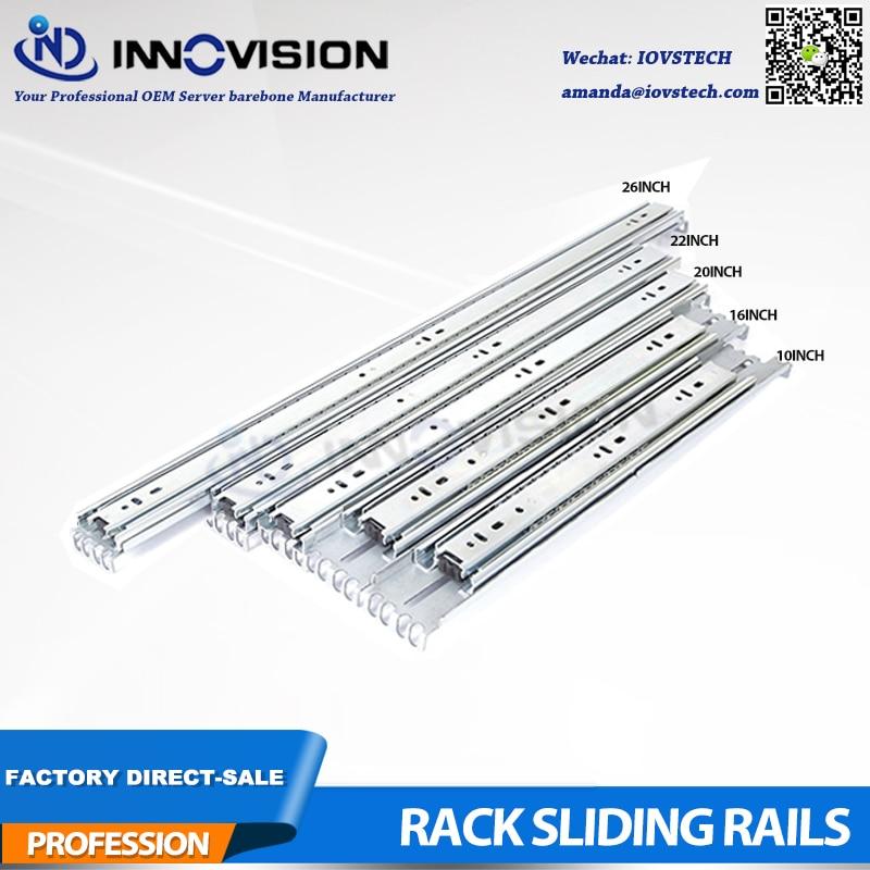 Rack Rail Kit SR-4501 Sliding Rail For Width430mm Of 1U 2U 3U Server Chassis