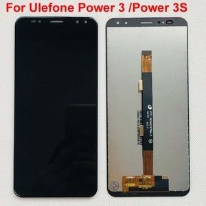 Image 1 - 100% สำหรับ Ulefone Power 3 Power3 จอแสดงผล LCD + หน้าจอสัมผัส Digitizer เปลี่ยนสำหรับ Ulefone Power 3S จอแสดงผล