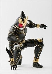Image 5 - Аниме Камен Райдер 15 см Черный рыцарь в масках, ПВХ фигурка, игрушка SHF Kamen, фигурка, игрушки, фигурки, модель, игрушки