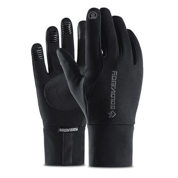 цена на Motorcycle Riding Gloves Full Finger Touch Screen Windstopper Ski Gloves Warm Glove Outdoor Sports Car-styling M L XL Size