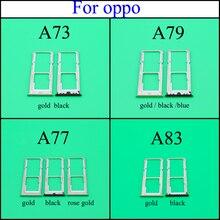 Для OPPO A73 A77 A79 A83 Micro Dual Sim SD TF слот для карт адаптер лотка держатель считыватель водонепроницаемый эжект печатная плата запасной штырь