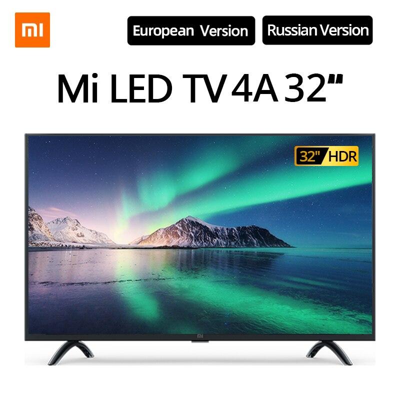 Xiaomi TV télévision intelligente 4A 32 pouces 1.5G + 8G support de stockage miracast Netflix DVB-T2 + C/DVB-S2 télévision LED intelligente