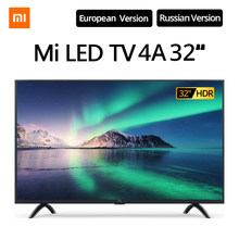Xiaomi Tv Smart Televisie 4A 32 Inches 1.5G + 8G Opslag Ondersteuning Miracast Netflix DVB-T2 + C/DVB-S2 Intellgent Led Televisie(China)