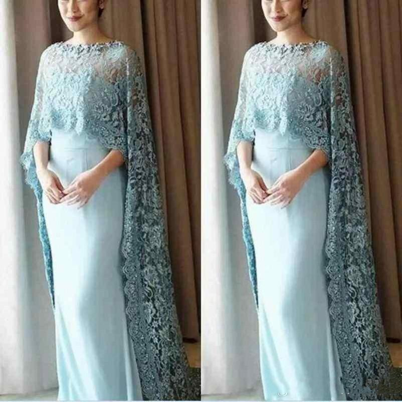 Mothers of the bridal Dresses Lace Appliqued Sheath Floor Length Special Prom Evening Party Gowns Plus Size