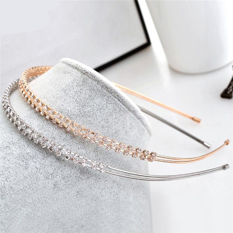 Serre tête ondulé cristal strass pour femmes | 1 pièce, bandeau perles, accessoires pour cheveux de mariage mariée, couronne | AliExpress