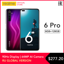 realme 6 Pro 8GB RAM 128GB ROM Mobile Phone 6Pro Snapdragon
