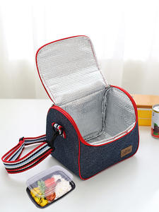Bento-Box Lunch-Bag Leisure-Accessories-Supplies Insulated-Pack Stuff Food Ice-Cooler