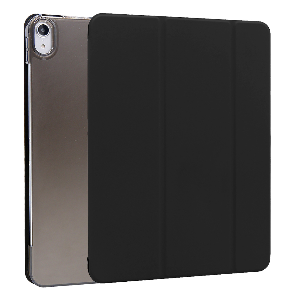 Black Black For iPad Air 4 10 9 Inch Flip Stand Case Protective Cover Auto Wake Up Sleep
