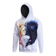 3D Hoodies Men Women Lion Hooded Sweatshirts Casual Pullover Fashion Tracksuits Animal Hip Hop Harajuku Male Tops