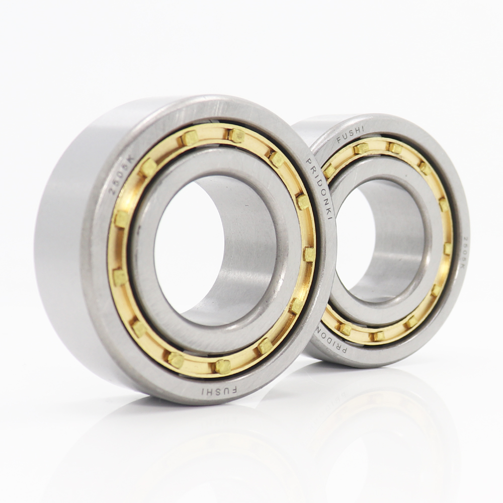 NJ2205EM 25 52 18 mm Cylindrical Roller Bearings Single Row Machined Brass Cage NJ2205 2505K For Motorcycles IJ Planet 5 Sport