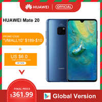 Globale Versione Huawei Mate 20 Smartphone 6 Gb 128 Gb da 6.53 Pollici Del Telefono Mobile Kirin 980 Nfc Kirin 980 Octa core Emui 9.0 4000 Mah