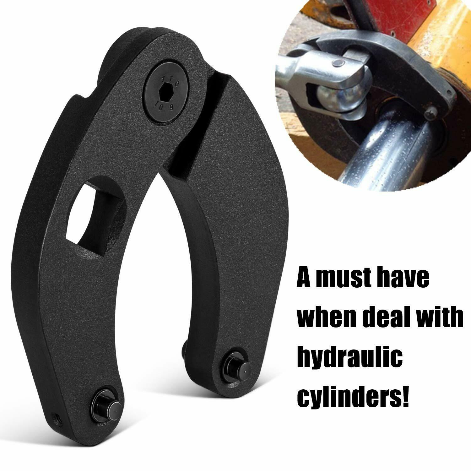 Chuang QIan 1266 Adjustable Gland Nut Wrench For Hydraulic Cylinders On Most Farm And Construction Equipment With Nuts 2
