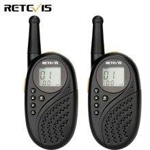 Un par RETEVIS RT35 PMR/FRS Radio Walkie Talkie sin licencia dos vías Radio transceptor PMR446 UHF USB carga de VOX Walkie-Talkie
