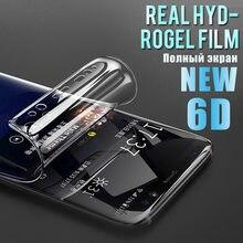 2PCS Volle Abdeckung Hydrogel Film Für Huawei Ehre 20 Pro Screen Protector Ehre 9A 9X 10i 8X 8A 8C x10 10 Lite Weichen Film Nicht Glas