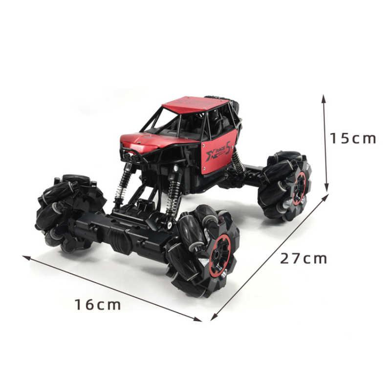 1:16 מכונית RC רכב 4WD 2.4Ghz Rock Crawler שלט רחוק צעצועי פעלולים להיסחף טיפוס רכב חג המולד צעצועים מתנה