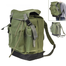 70L Large Capacity Multifunctional Army Green Canvas Carp Fishing Bag Fishing Tackle Backpack Durable and Wear resistant to Use.