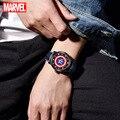 Disney Marvel кварцевые наручные часы тренд корейский стиль личности водонепроницаемые часы мужские часы модные и повседневные 3 бар круглые