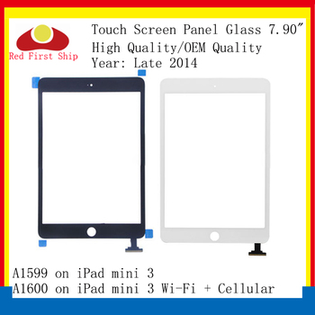 10Pcs/lot For Ipad Mini 3 Touch Screen Digitizer Touch Panel Sensor Glass Lens For IPAD Mini3 A1599 A1600 A1601 LCD Front Outer