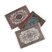 1:12 Dollhouse Miniature Turkish Style Area Rug/Carpet/Mat Floor Coverings for Dolls