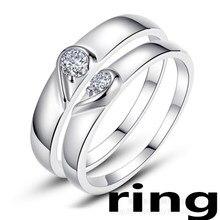 Novo 100% 925 prata esterlina jóias feminino anel original moda original jóias presente entrega gratuita