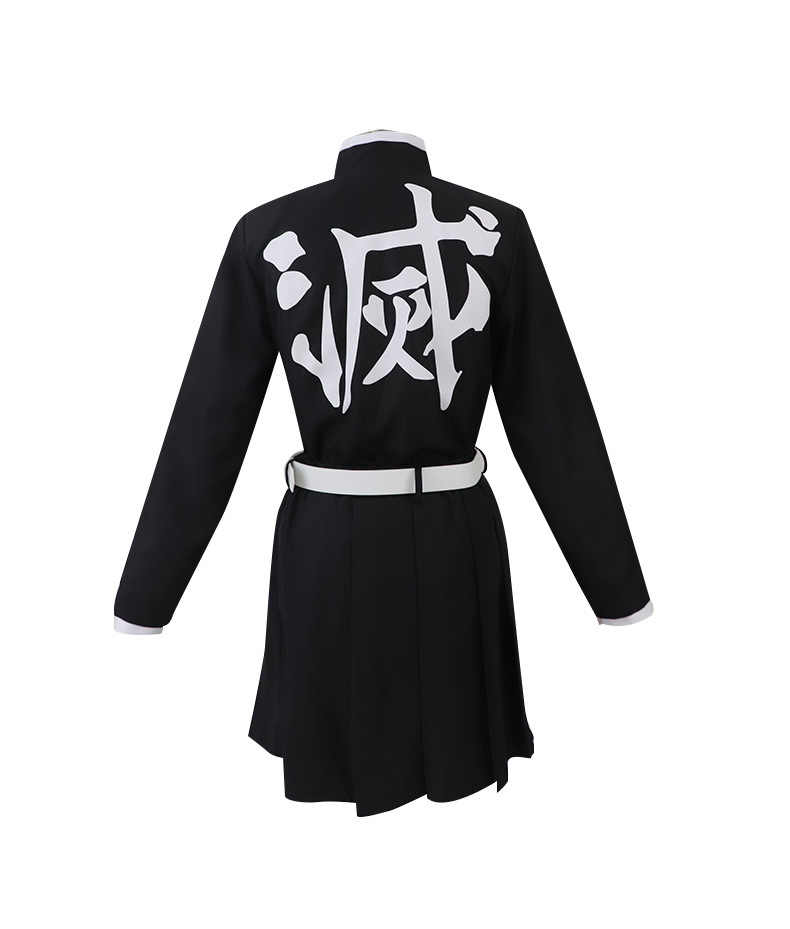 Kanao Tsuyuri Demon Slayer: Kimetsu no Yaiba Cosplay Costume Halloween Canirval Costumes Cloak+Top+ Skirt + Belt + Headwear +Wig